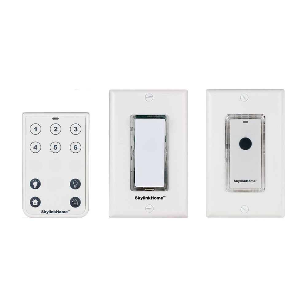 Skylinkhome K 2 Wireless 3 Way On Off Dimmer Remote Kit Easy Switch Dimmers