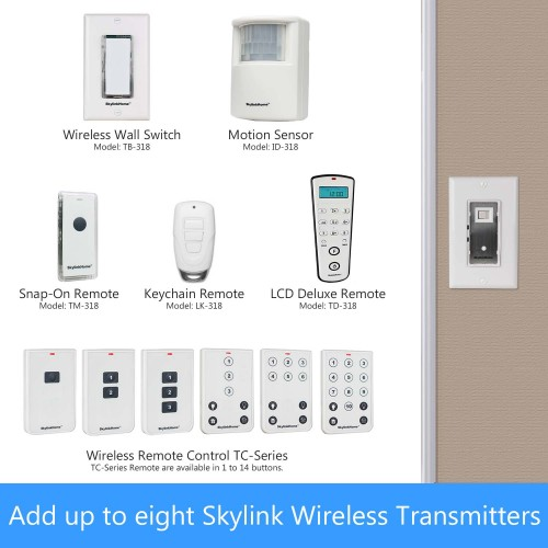 Skylinkhome Sk 8a Wireless 3 Way On Off Kit Incl Snap